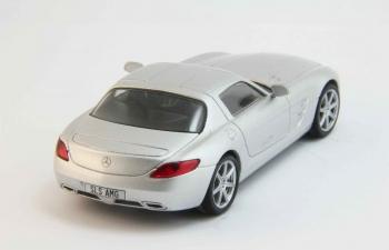 MERCEDES-BENZ SLS AMG, Суперкары 14, silver
