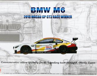 Сборная модель BMW M6 GT3 2018 Macau Race Winner
