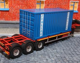 (KIT) Полуприцеп-контейнеровоз ЧМЗАП-9911.000000.061-П
