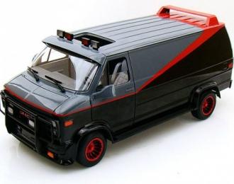GMC Classical A-Team Van, black