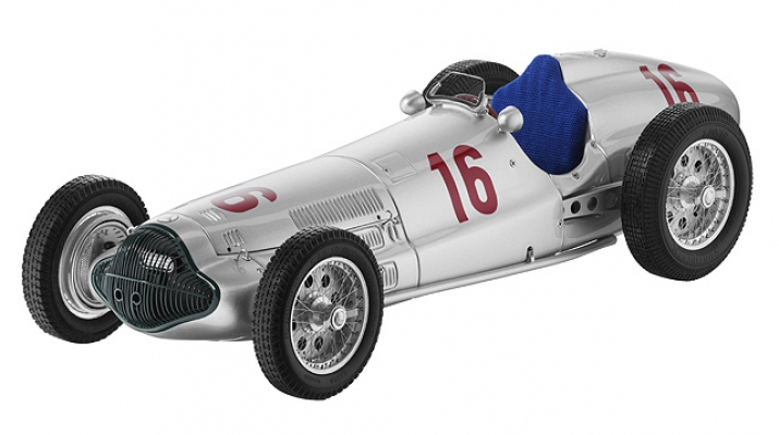 MERCEDES-BENZ W154 German GP Seaman (1938), silver