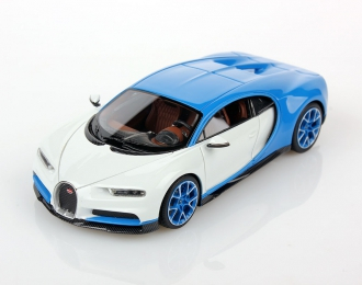 Bugatti Chiron 2016 (blue / white)