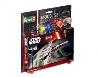 Сборная модель Звездные войны Истребитель X-Wing (подарочный набор)