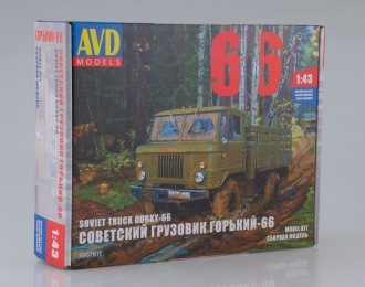 (Уценка!) Сборная модель Горький 66 бортовой