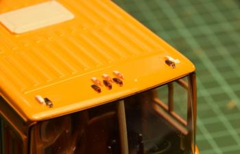 Фонарь габаритный 1.370.3-000 (IKARUS), комплект 10 шт., прозрачный