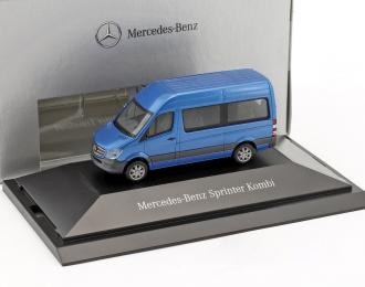 Mercedes-Benz Sprinter микроавтобус голубой металлик