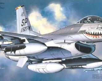 """Сборная модель F-16C/D """"Jaws"""""""