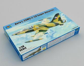 Сборная модель Самолёт Aero L-39MS/L-59 Super Albatros