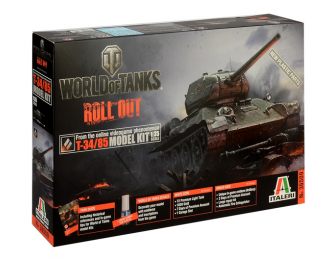 Сборная модель Танк T-34/85 NEW EDITION