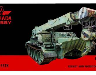 Сборная модель Бронированная ремонтно-эвакуационная машина JVBT-55TK
