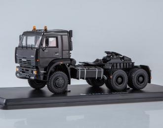 КАМАЗ-65225 седельный тягач, черный