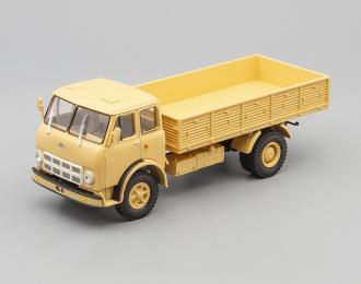 МАЗ 500А бортовой, песочный