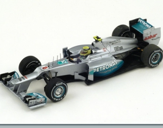 MERCEDES-BENZ AMG W03 Winner Chinese GP (Nico Rosberg) 2012, silver