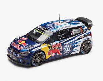 VOLKSWAGEN Polo WRC #1 World Champion Ogier - Ingrassia Winner Rally Monte Carlo 2015