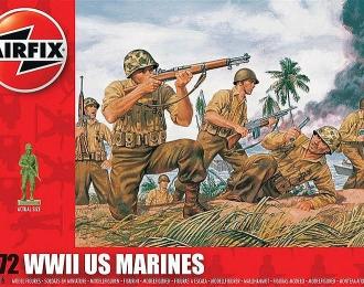 Сборная модель Американские морские пехотинцы (Вторая мировая война)