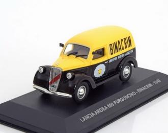 """LANCIA Ardea 800 Furgoncino """"BINACRIN"""" (1949), yellow / black"""