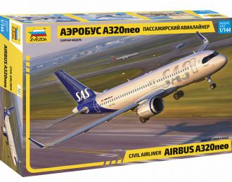 Сборная модель Пассажирский авиалайнер Аэробус A320NEO