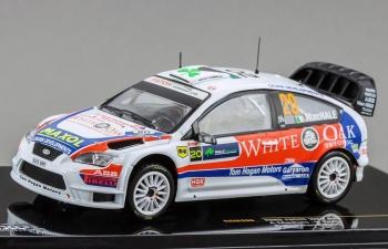 FORD Focus WRC 20 11th Rally Ireland (A.Machale - K.Duffy) 2009, white