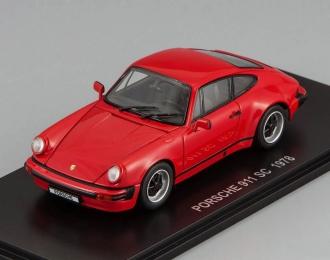 PORSCHE 911 SC, red