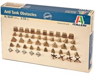 Сборная модель Аксессуары Anti tank obstacles