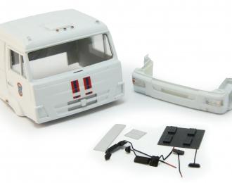 Спальная кабина для КАМАЗ вариант МЧС (Евро-4), белый