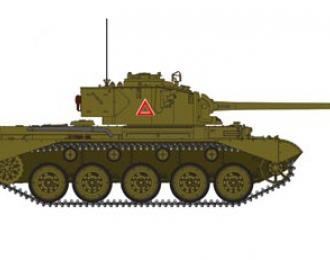 Сборная модель  British Cruiser Tank A34 'COMET'