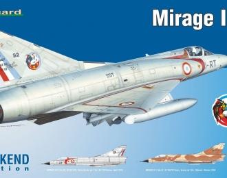 Сборная модель Французский самолет DASSAULT MIRAGE III C (Weekend Edition)
