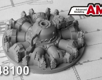 Набор для доработки Советский авиационный двигатель АШ-62 ИР