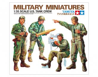 Сборная модель Американские танкисты 4 фигуры