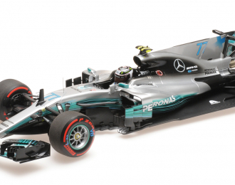 MERCEDES AMG PETRONAS TEAM F1 W08 EQ POWER+ BOTTAS 2nd MEXICAN GP 2017