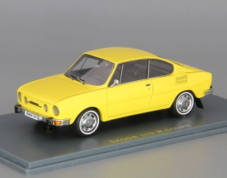 SKODA 110R Coupe (1972), yellow