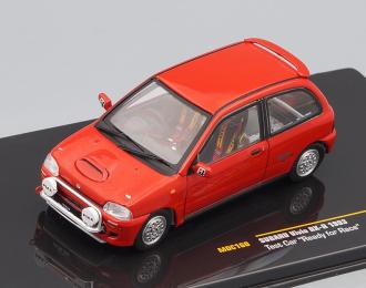 "SUBARU VIVIO RX-R Test car ""Ready for Race"" 1993 Red"