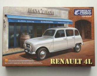Сборная модель Renault 4L