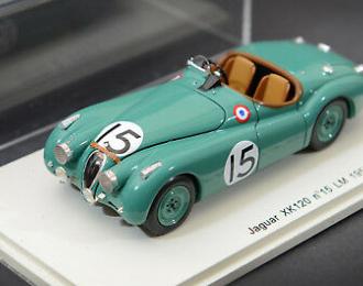JAGUAR XK120 #15 LM (1950), green