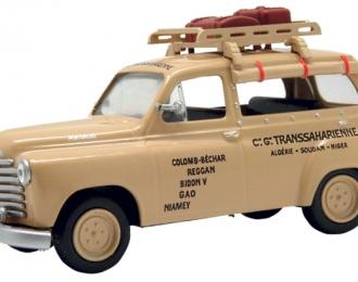 RENAULT colorale - Algiers 1950, Taksowki Swiata 24, бежевый
