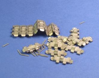 Траки наборные железные советская гаубица Б-4