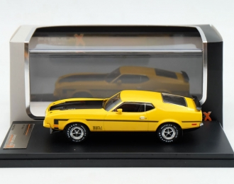 FORD Mustang Mach 1 (1971), yellow / black