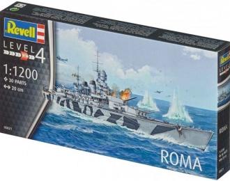 Сборная модель Итальянский линкор RN Roma