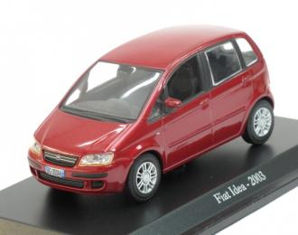 FIAT Idea (2003), red