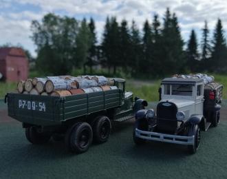 Груз в кузов дрова для ЗИS-5 (НАП, Миниклассик)