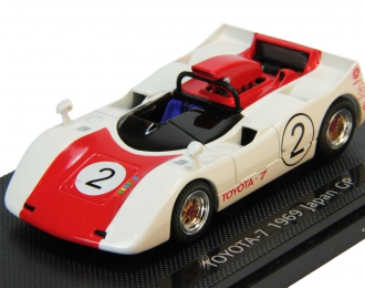 TOYOTA 7 Japan GP No 2 (1969), white / red