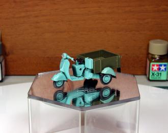 Вятка МГ-150 грузовой мотороллер (бирюзово-зеленый)