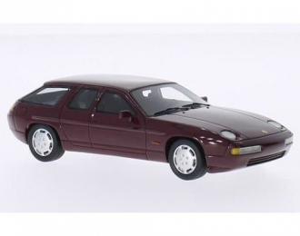 PORSCHE 928 H50 Concept Car (1987), metallic dark red