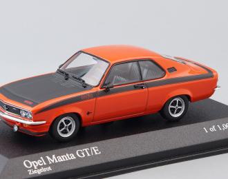OPEL Manta GT/E 1974, red