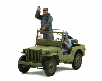 Сборная модель MB Military Vehicle New China 1949