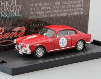 """ALFA ROMEO Giulietta Spirint 2a S. """"Winter Maraton 97"""" Brusciotti Cangiotti #93, red"""