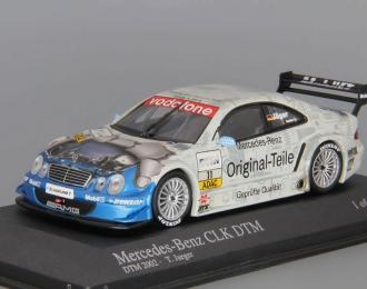 MERCEDES-BENZ CLK DTM 2003 Team Persson #11 Thomas Jaeger, silver / blue