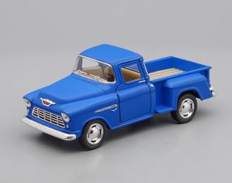 CHEVROLET Stepside Pick-up (1955), matte blue