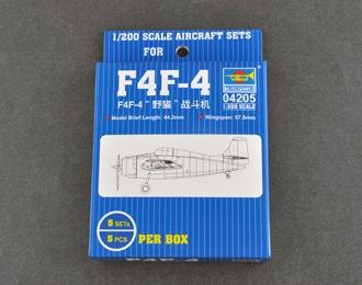Сборная модель Самолет F4F-4