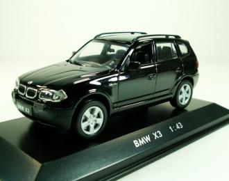 BMW X3, black